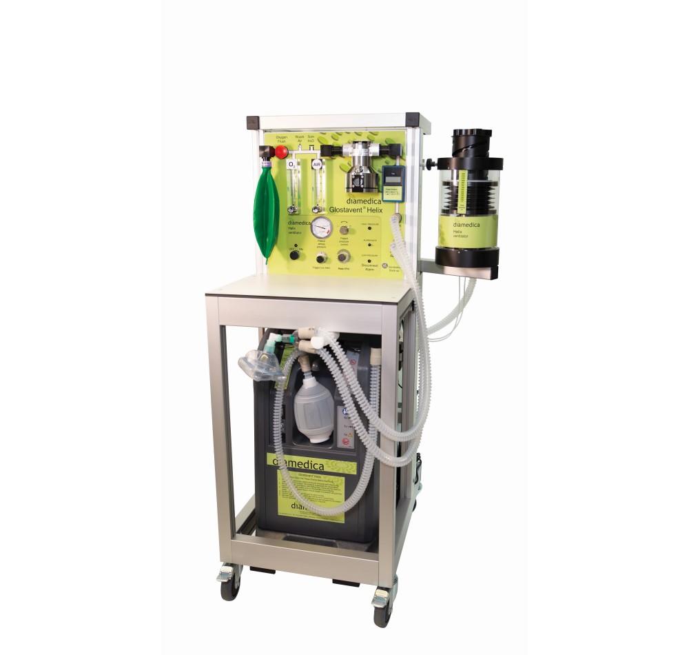 GLOSTAVENT® Helix  Anaesthesia Machine