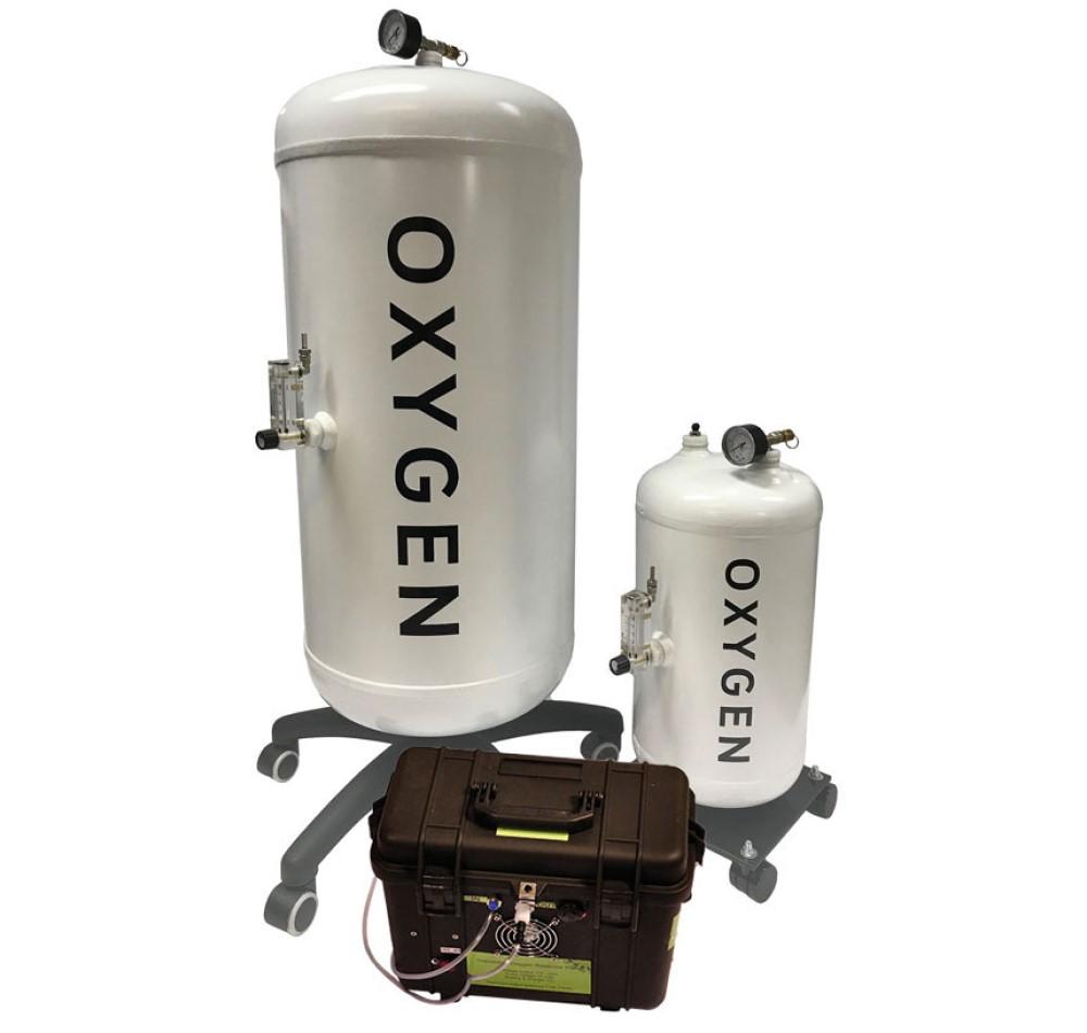Oxygen Reservoir Filling System – 20 litre storage vessel