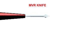 MVR Knife 19. 20, 23 Gauge, Straight
