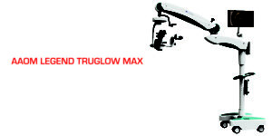 AAOM LEGEND TRUGLOW MAX Coaxial/Oblique LED Operating Microscope, Zoom with X-Y