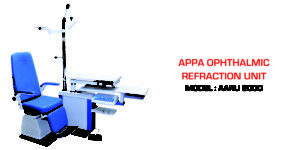 Ophthalmic Refraction Equipment