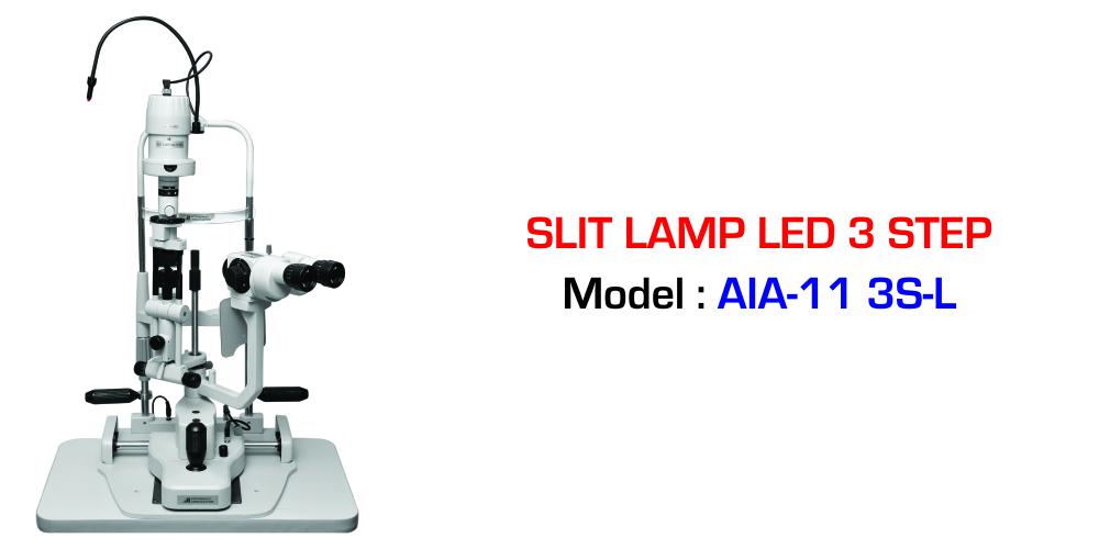 Slit Lamp LED 3 Step