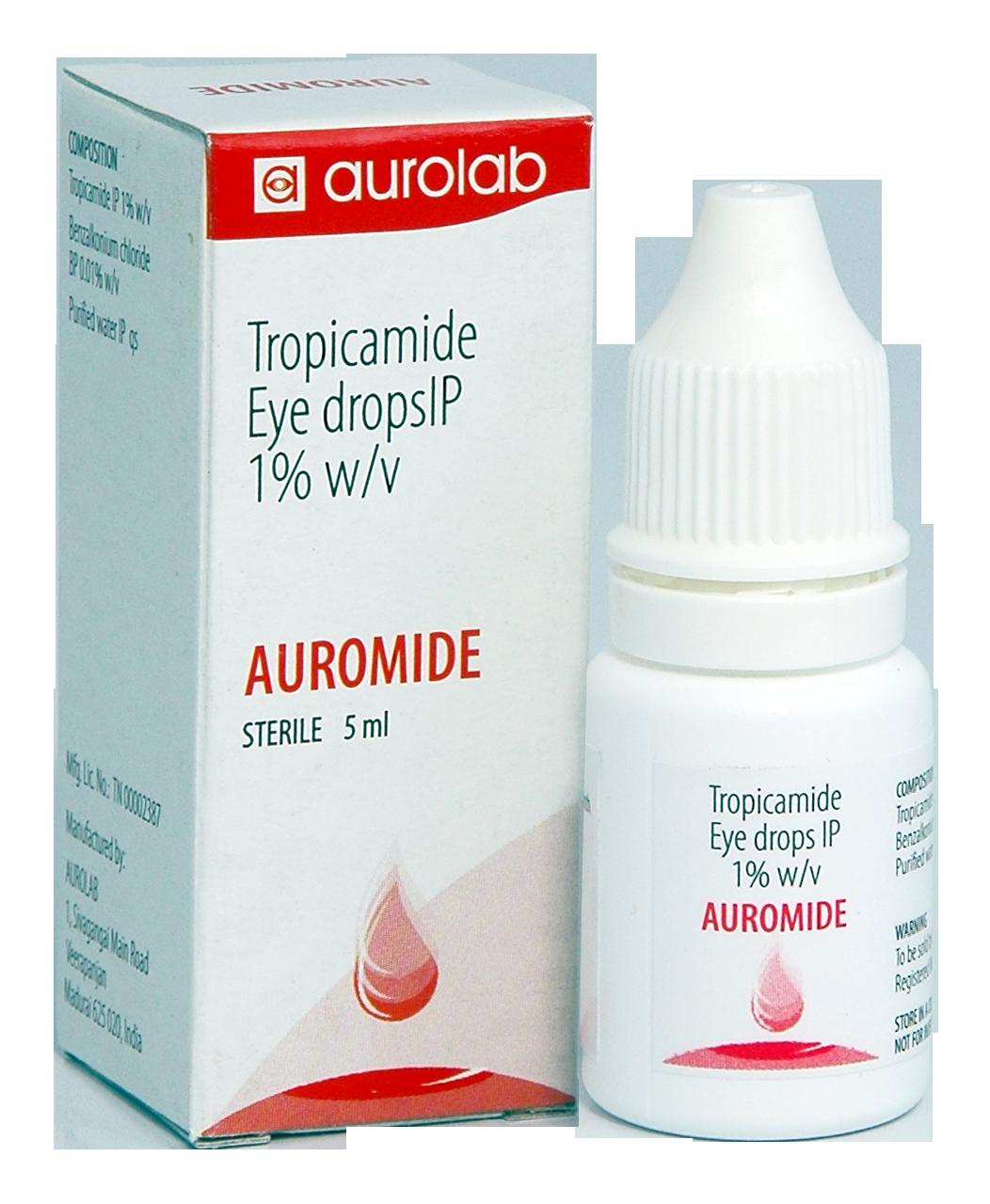Tropicamide / phenyleprine 5% 5ml