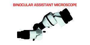 Assistant Binocular Microscope for Operating Microscope