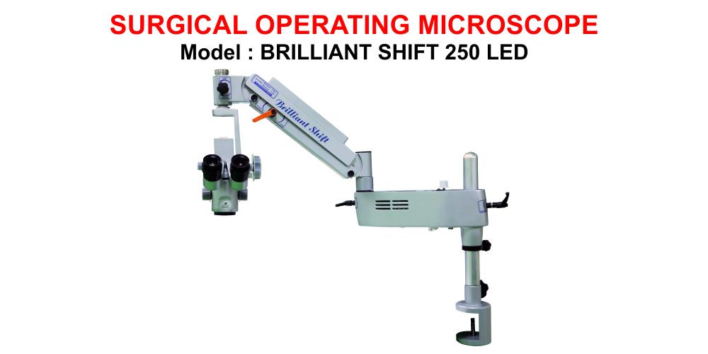 BRILLIANT SHIFT 250 LED Portable Operating Microscope