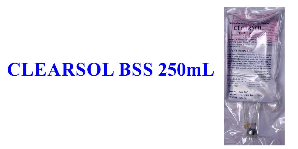 Balance Salt Solution 250ml in Non PVC Bag