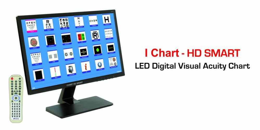 Visual Acuity Chart – Digital LED