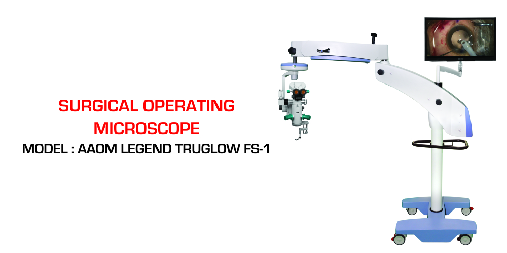 LEGEND TRUGLOW FS-1 Coaxial/Oblique LED Operating Microscope, Zoom with X-Y