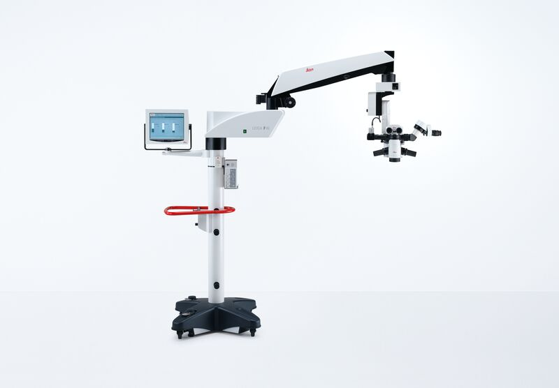 Red Reflex Surgical Microscope Leica M822 F40 / F20