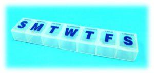 Medicine organizer pill box