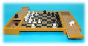 Large Table Top Chess Set