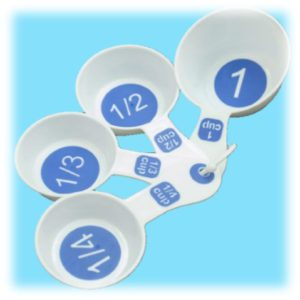 Measuring Cups with Large Print