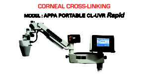 Corneal Cross Linking, Portable