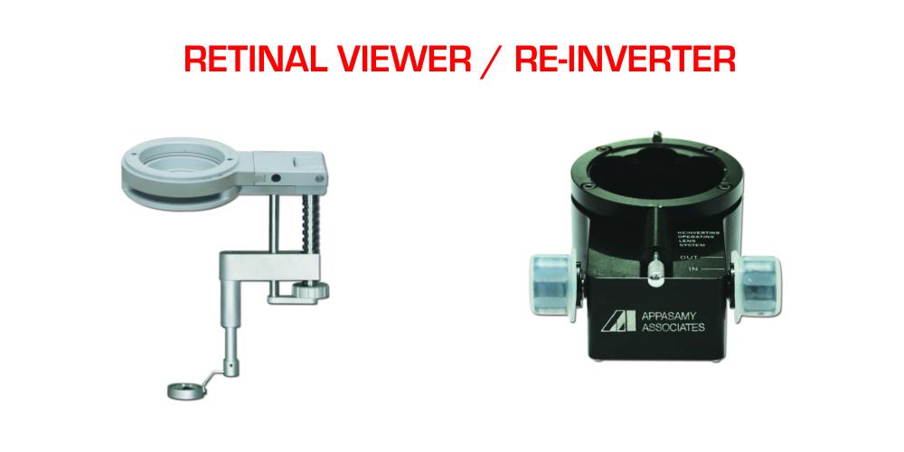 Retinal Viewer / Re-Inverter