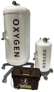 Oxygen Reservoir Filling System – 100 litre storage vessel