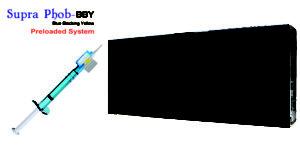 SUPRA PHOB BBY Hydrophobic Aspheric Yellow Preloaded Single Piece. Optic Diameter 6.00mm, Overall Length 13.00mm