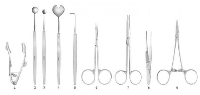 Trichiasis Surgery Set