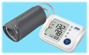 Talking High Contrast Display Blood Pressure Monitor