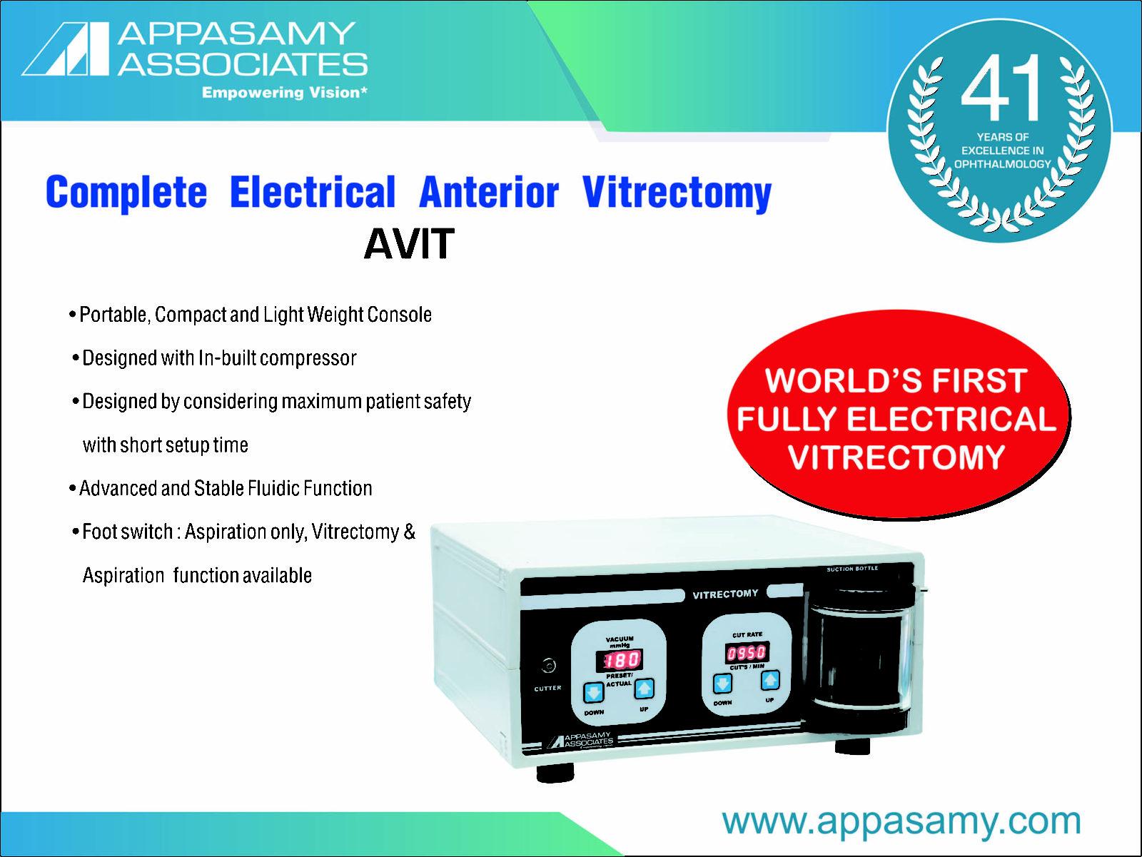 Anterior Vitrectomy System