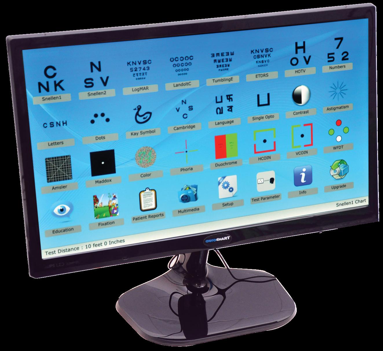 AUROCHART Digital Vision Chart