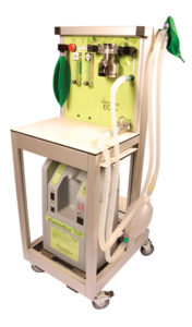 ECO2 Anaesthesia Machine w/manual ventilation