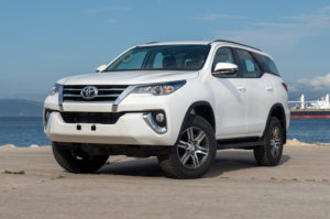 Toyota Fortuner Station Wagon – Turbo Diesel – RHD