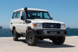 Toyota Landcruiser Hardtop – 6 Seater – LHD/RHD