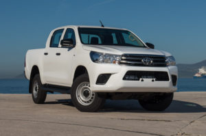 Toyota Hilux Double Cabin Pick Up – 5 Seater LHD