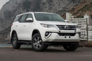 Toyota Fortuner Station Wagon – Diesel – LHD