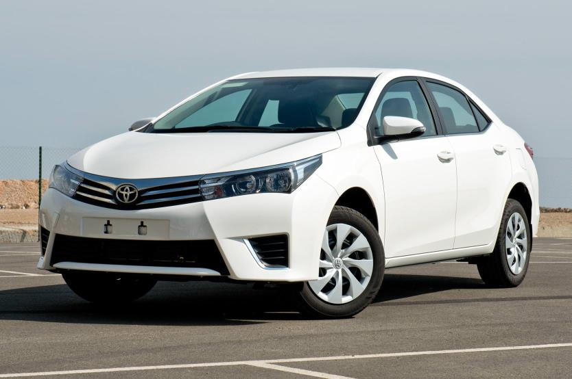 Toyota Corolla Sedan – 4×2 – Petrol – LHD
