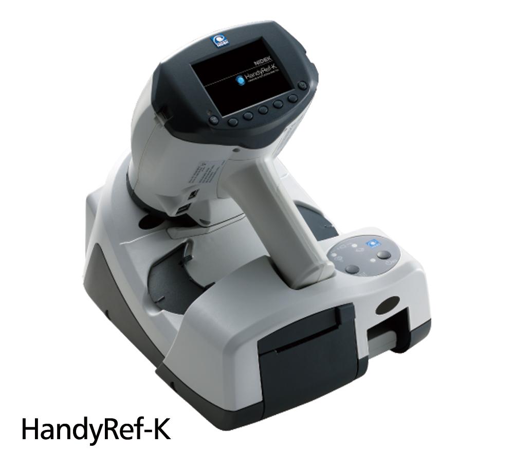 Handheld Ref/Keratometer HandyRef-K     Handheld Refractometer HandyRef