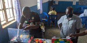Setting up permanent Global Vision 2020 eye clinics in Malawi